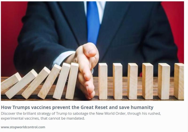 Trump vaccine strategy